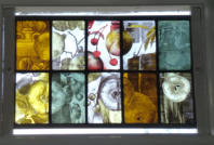 Painted Glass Panel 3