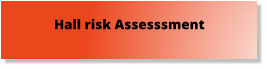 Hall risk Assesssment